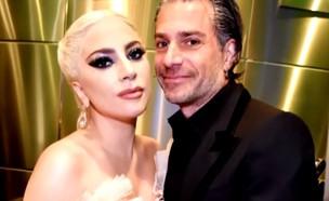 ליידי גאגא והארוס (צילום: מעמוד היוטיוב Entertainment Tonight )
