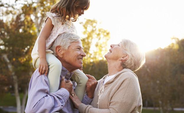 סבא וסבתא אילוסטרציה (צילום: SHUTTERSTOCK)