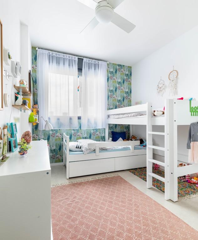 דירה בתל אביב, עיצוב סטודיו דירתי-לי, חדר ילדים