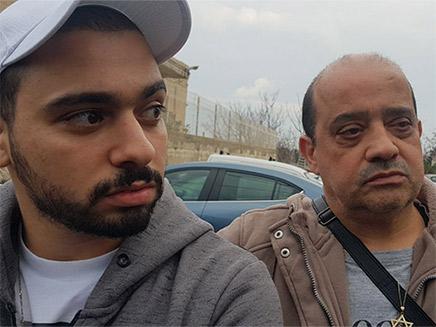 אלאור אזריה ואביו