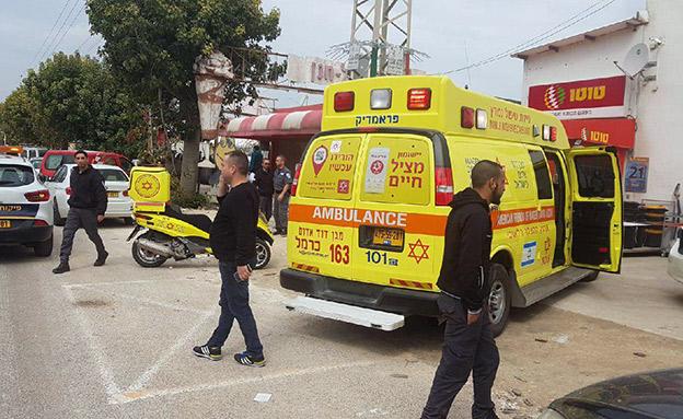 2 פצועים בינוני (צילום: תיעוד מבצעי מד