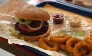 ארוחת וג'י בורגר של בורגר קינג (צילום: ניצן לנגר, אוכל טוב)