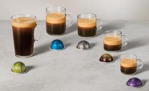 """כוסות הקפה של נספרסו ורטו (צילום: יחצ חו""""ל נספרסו)"""