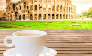 קפה ברומא (צילום: shutterstock By Neirfy)