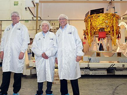 צוות פיתוח החללית הישראלית