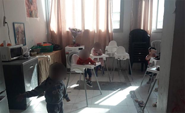 """""""מחסני הילדים"""" בתל אביב (צילום: משרד העבודה והרווחה, חדשות)"""