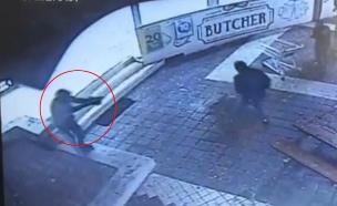 זירת הרצח בקריית טבעון (צילום: חדשות)