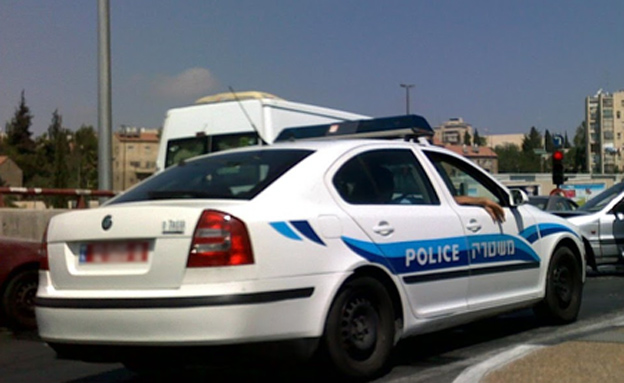 ניידת משטרה (צילום: החדשות)