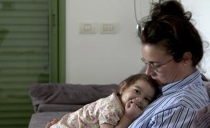 המאבק של נגה בת ה-3 (צילום: החדשות)