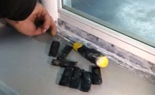 הברחת טלפונים בכלא, ארכיון (צילום: קבוצת ביטחון שדה, חדשות)