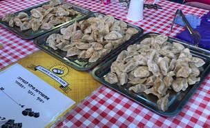 דמפלינגס בשוק הכרמל (צילום: איילה כהן, אוכל טוב)
