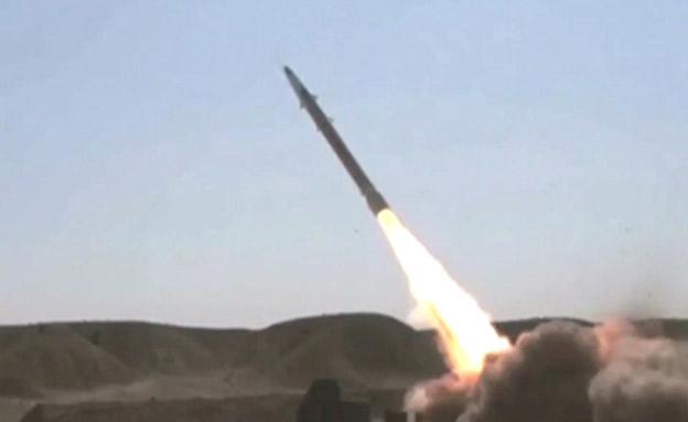 שיגור טיל אירני, ארכיון (צילום: presstv, חדשות)