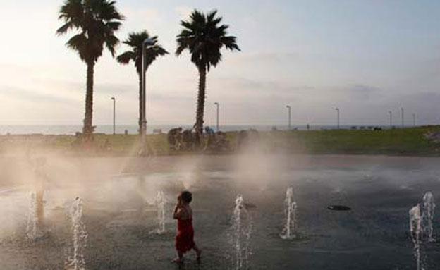 היום: התחממות ניכרת, רוחות ויובש (צילום: רויטרס, חדשות)