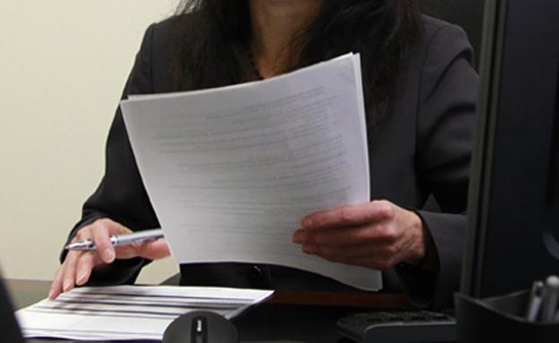 """עו""""ד , מסמכים , ניירת (צילום: Bacho, Shutterstock)"""