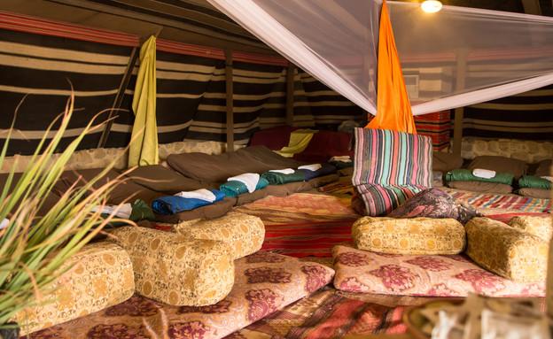 אוהל משודרג (צילום: יוני גרינצר)