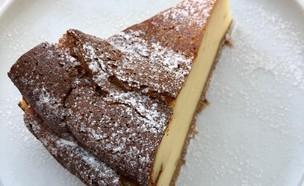 עוגת גבינה רושפלד קפיטריה  (צילום: ריטה גולדשטיין, אוכל טוב)