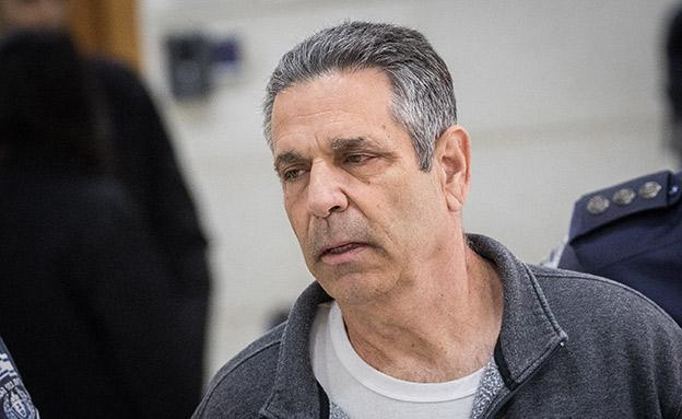 שגב בבית המשפט, היום (צילום: Yonatan Sindel/Flash90, חדשות)