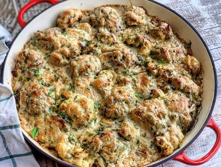 סינייה של קבב, אורז וכרובית (צילום: רעות עזר, אוכל טוב)