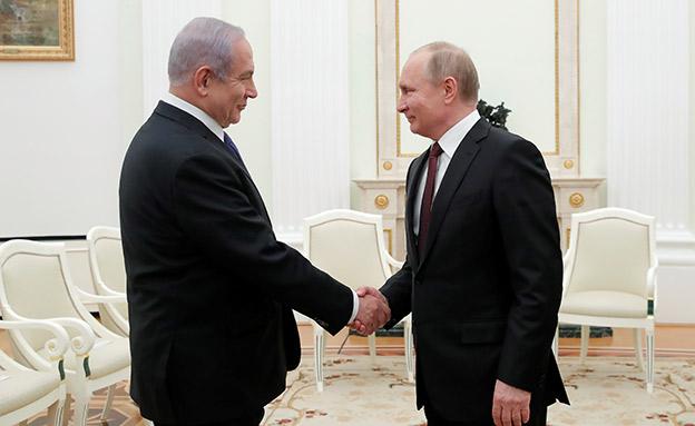 """סרב להתייחס מרוסיה. רה""""מ ופוטין (צילום: רויטרס, חדשות)"""