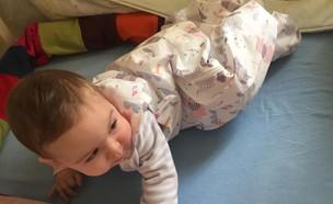 שק שינה לתינוקות (צילום: מירב דוסטר)