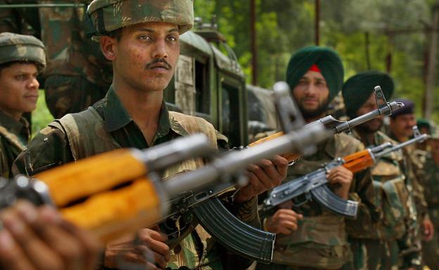 לוחמי צבא הודו בקשמיר
