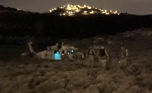 """כוח מילואים מבצע מעצרים (צילום: דובר צה""""ל , באדיבות גרעיני החיילים)"""