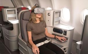 מציאות מדומה (צילום: Iberia INFLIGHT VR)