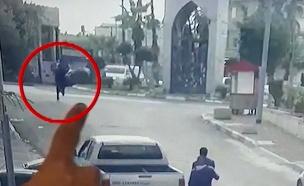 רצח בכפר קאסם לעיני המצלמות (צילום: חדשות)