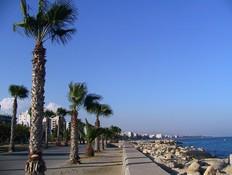 חוף הים בלימסול, קפריסין