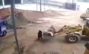 הסרטו שסיבך את בעל מפעל הבטון (צילום: חדשות)