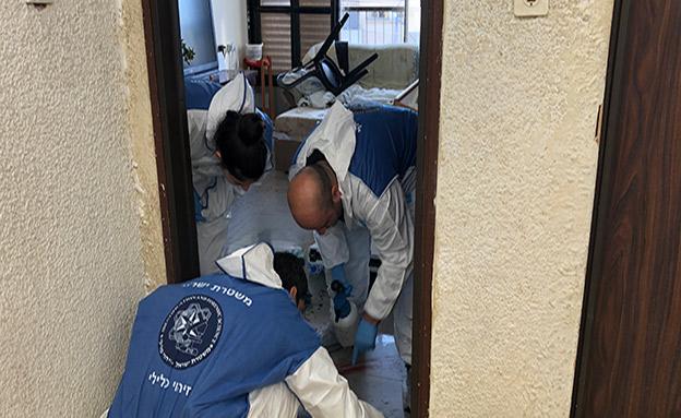 דקירת זוג באשדוד (צילום: דוברות המשטרה, חדשות)
