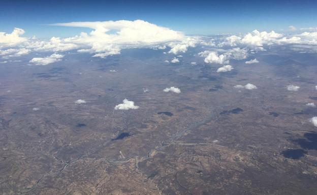 מבט מהאוויר (צילום: מערכת mako חופש)