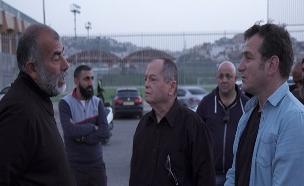 קושמרו ואברמוביץ' במסע בחירות באום אל פאחם (צילום: החדשות)