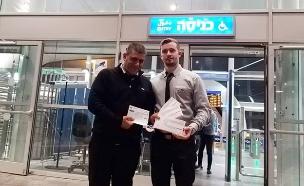 """""""האבידה היקרה ביותר ברכבת"""" (צילום: דוברות רכבת ישראל, חדשות)"""