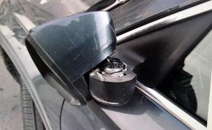 נזק לרכב של אדם שסירב לשלם (צילום: דוברות המשטרה, חדשות)
