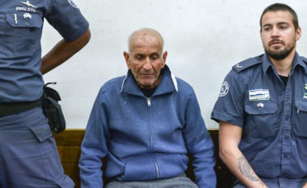 הרוצח, אשר פרג' (צילום: פלאש 90, חדשות)