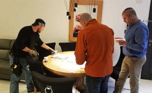 מעצר חוליית הימורים בלתי חוקיים (צילום: דוברות המשטרה, חדשות)