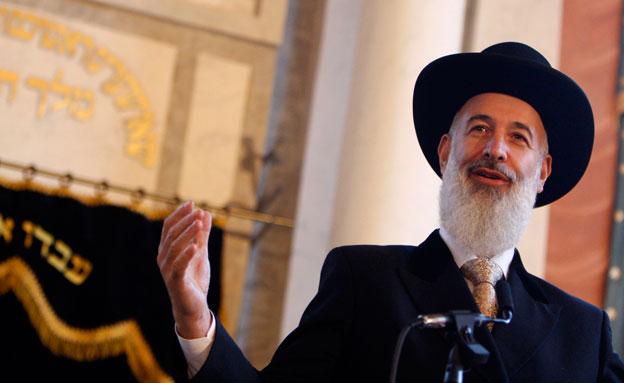 הרב מצגר (צילום: רויטרס, חדשות)