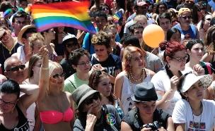 מצעד הגאווה (ארכיון) (צילום: כפיר סיון, חדשות)