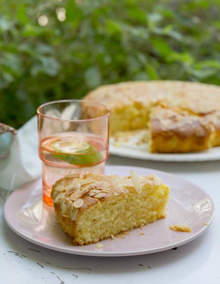 עוגת תפוזים טבעונית (צילום: יעל אילן, מתרגשת, הוצאת מודן)