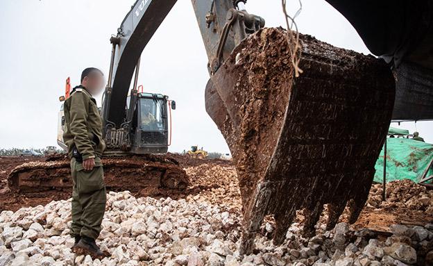 """המבצע לאיתור מנהרות חיזבאללה (צילום: דובר צה""""ל, חדשות)"""