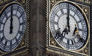 """ה""""ביג בן"""" בלונדון (צילום: רויטרס, חדשות)"""