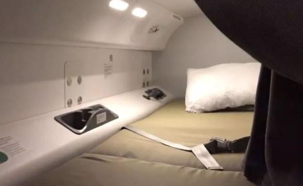 תמונות סודיות מהמטוס (צילום: NEWS.COM.AU, צילום מסך)