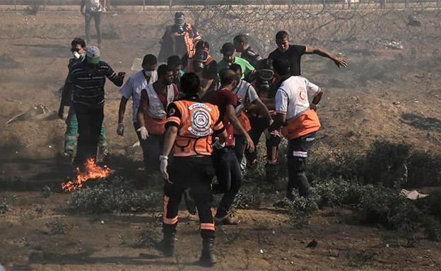 כמעט שנה לעימותים בגבול עזה (צילום: חדשות)