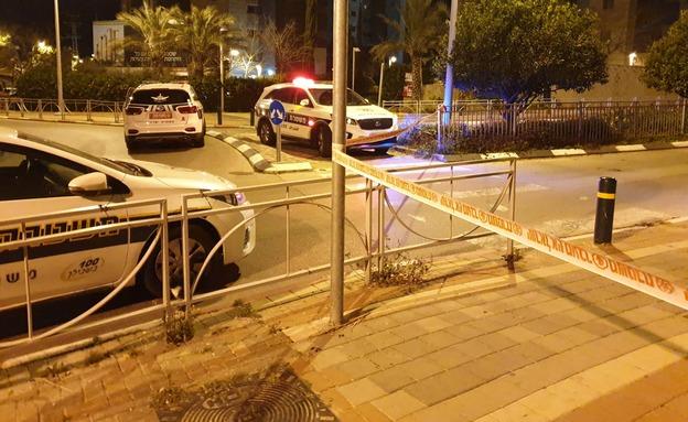 אירוע פלילי ברחובות, ארכיון (צילום: דוברות המשטרה, חדשות)