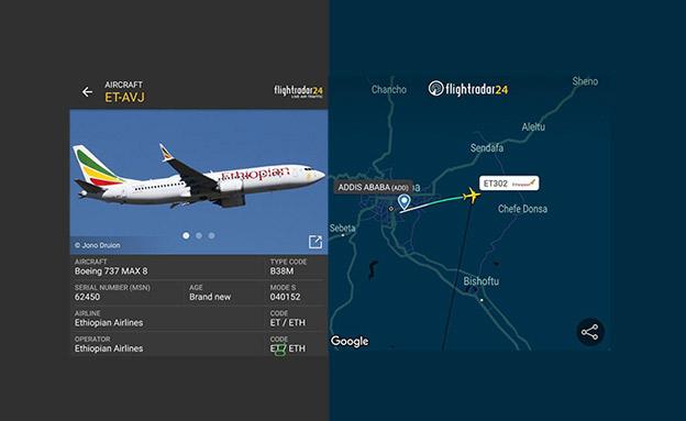 מסלות המטוס שהתרסק (צילום: עמוד הפייסבוק CivMilAir, חדשות)