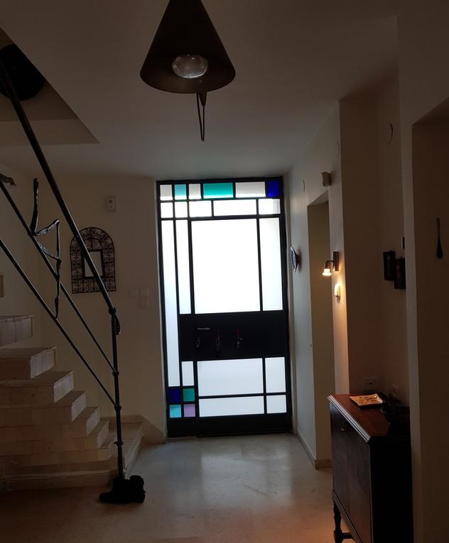בית בשרון, ג, עיצוב נילי רונקין, הכניסה לפני שיפוץ