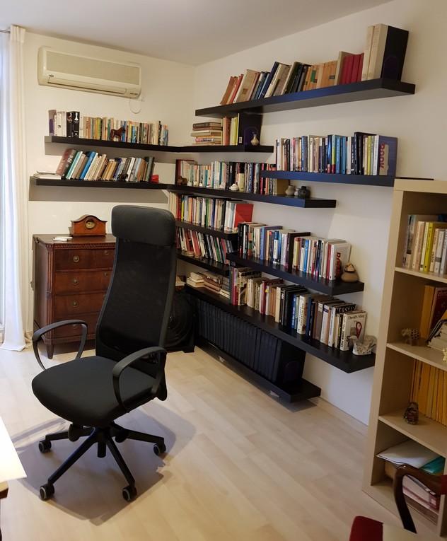 בית בשרון, ג, עיצוב נילי רונקין, חדר עבודה לפני שיפוץ