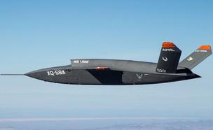 מטוס קרב xq58a (צילום: SpectralKaiser@Twitter)