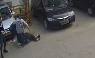 תיעוד: רצח בגלל ריב על חניה (צילום: החדשות)